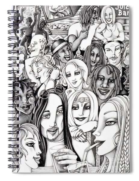 The In Crowd Spiral Notebook