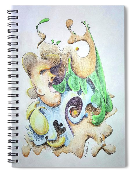 The Infection Spiral Notebook