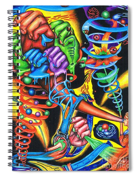 The Infinite Expansion Of A Cosmic Revelation Spiral Notebook