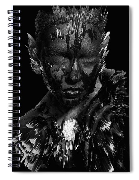 The Inner Demons Coming Out Spiral Notebook