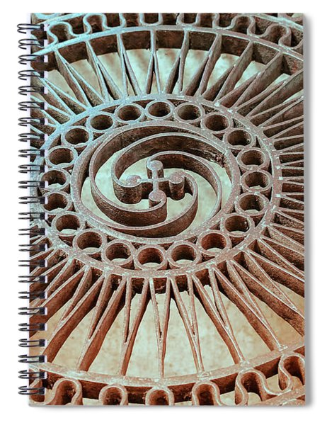 The Iron Lattice Spiral Notebook