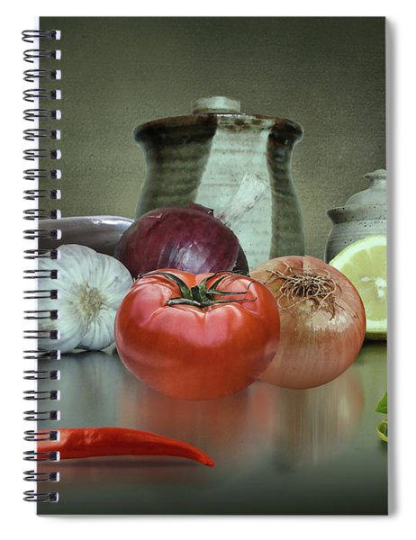 The Italian Kitchen Spiral Notebook