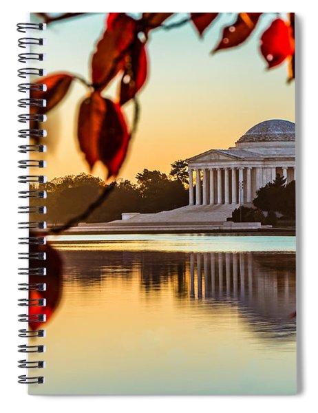 Jefferson In Autumn Spiral Notebook