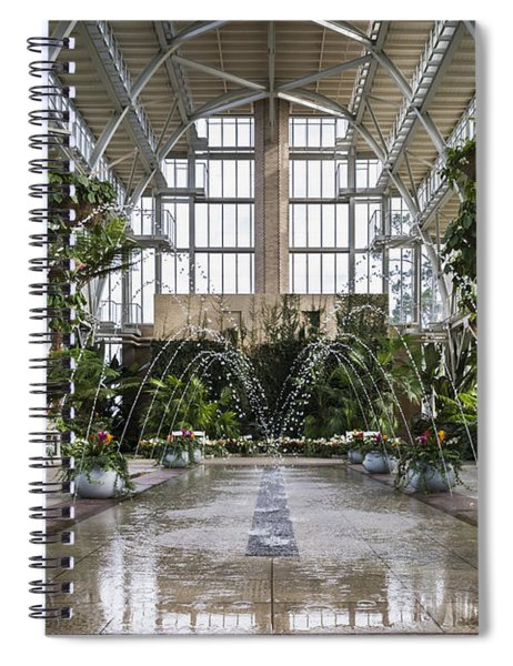 The Jewel Box Fountain Spiral Notebook