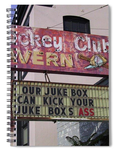 The Jockey Club Spiral Notebook