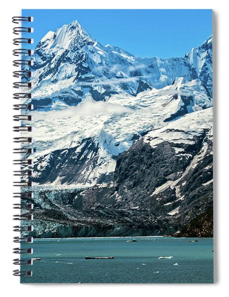 The John Hopkins Glacier Spiral Notebook