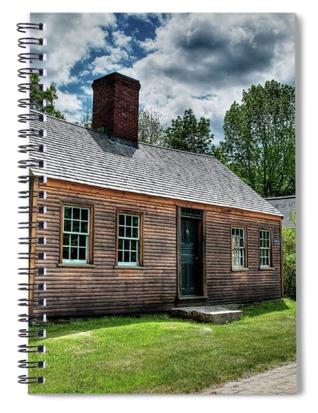 The John Wells House In Wells Maine Spiral Notebook