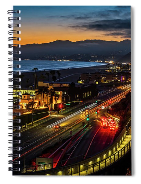 The Jonathan Beach Club - Night  Spiral Notebook