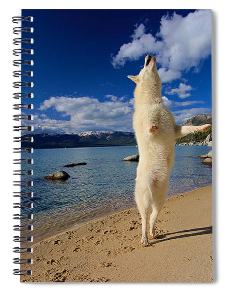The Joy Of Being Well Loved Spiral Notebook