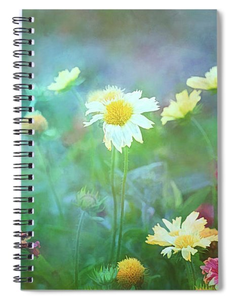 The Joy Of Summer Flowers Spiral Notebook