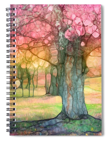 The Joyous Trees Spiral Notebook