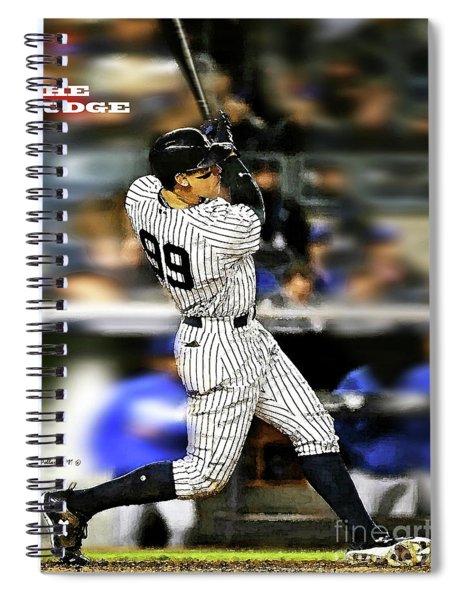 The Judge, Aaron Judge, Number 99, New York Yankees Spiral Notebook