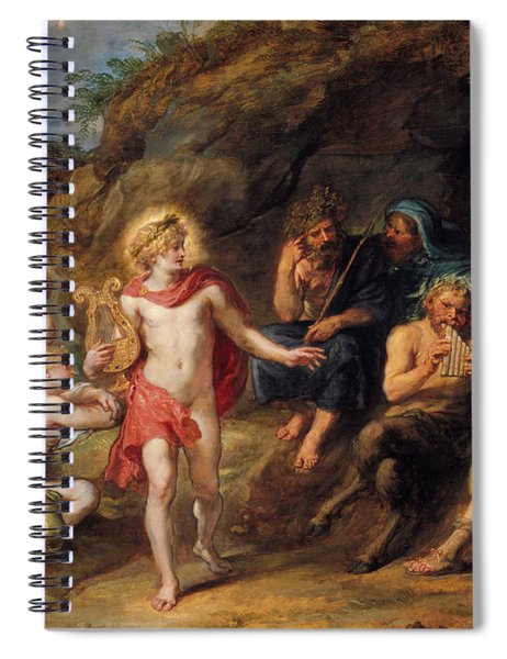 The Judgment Of Midas Spiral Notebook