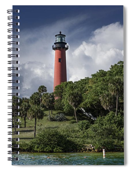 The Jupiter Inlet Lighthouse Spiral Notebook