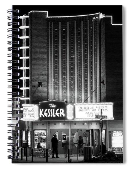 The Kessler V2 091516 Bw Spiral Notebook