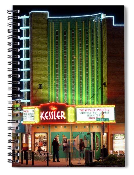 The Kessler V2 091516 Spiral Notebook