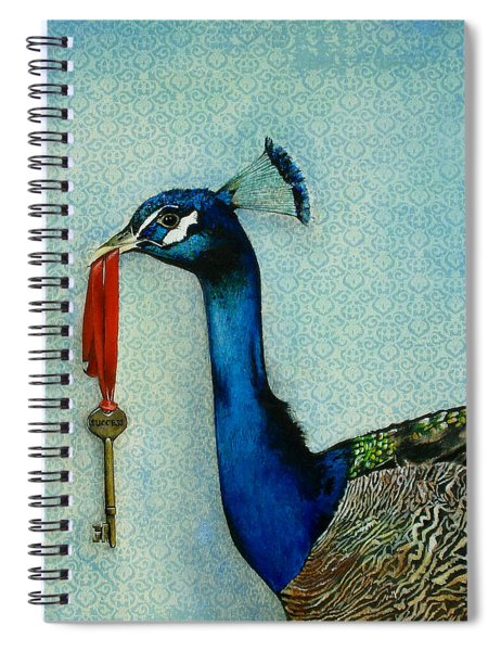 The Key To Success Spiral Notebook