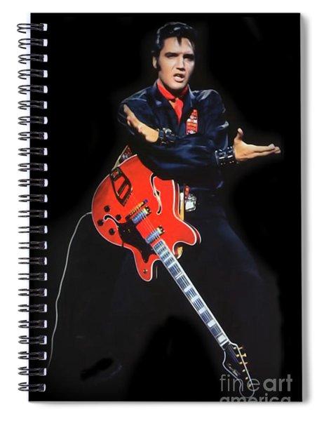 The King Rocks On Xliv Spiral Notebook