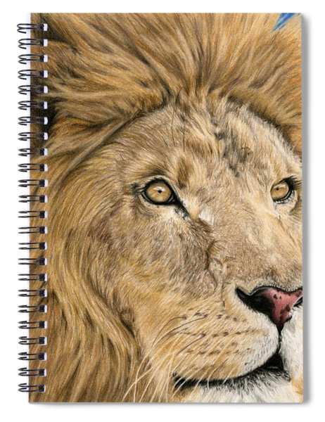 The King Spiral Notebook
