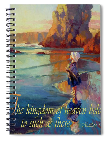 The Kingdom Belongs To These Spiral Notebook