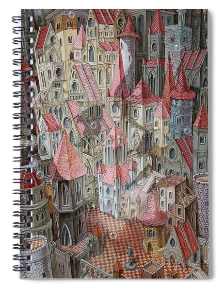 The Kingdom Of Aurora. Waiting For The Prince. Spiral Notebook