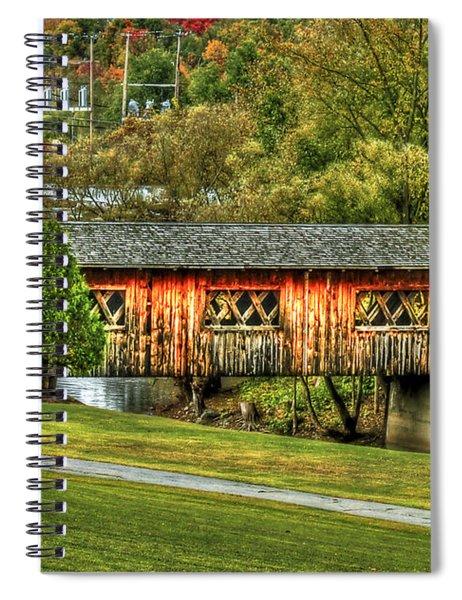 The Kissing Bridge Spiral Notebook