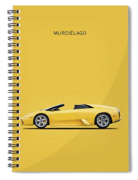 The Lamborghini Murcielago Spiral Notebook by Mark Rogan