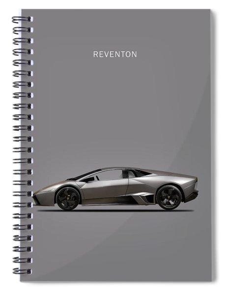 The Lamborghini Reventon Spiral Notebook by Mark Rogan