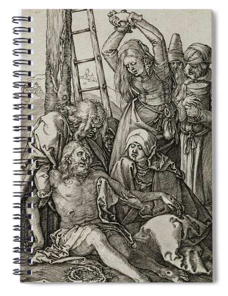 The Lamentation Spiral Notebook