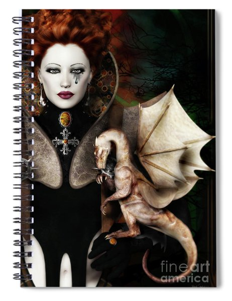 The Last Dragon Spiral Notebook