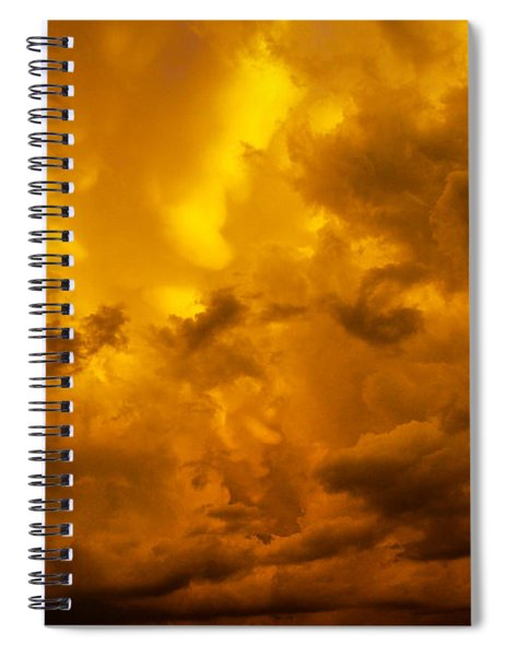 The Last Glow Of The Day 008 Spiral Notebook