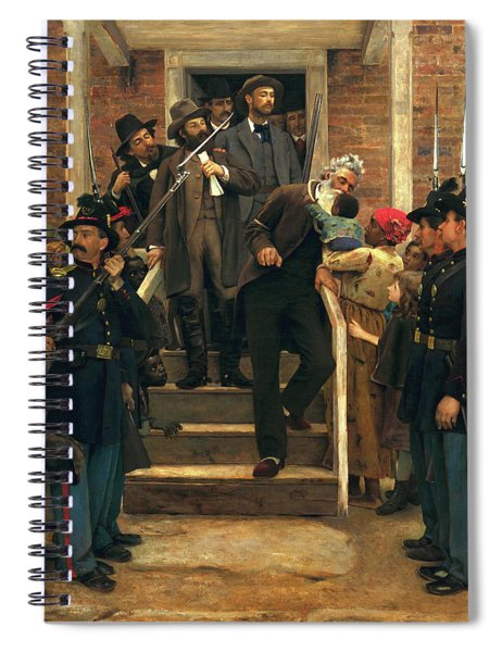 The Last Moments Of John Brown Spiral Notebook