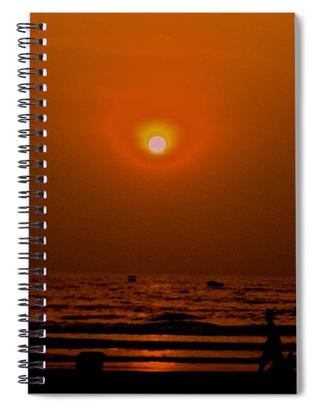 The Last Rays Spiral Notebook