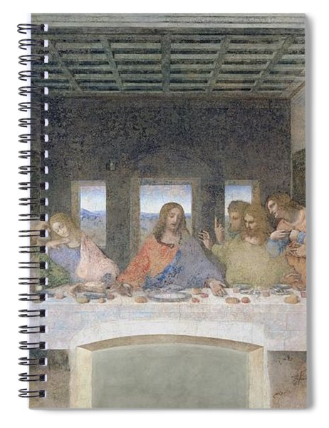 The Last Supper Spiral Notebook