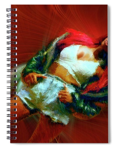 The Latest In Fashion Spiral Notebook