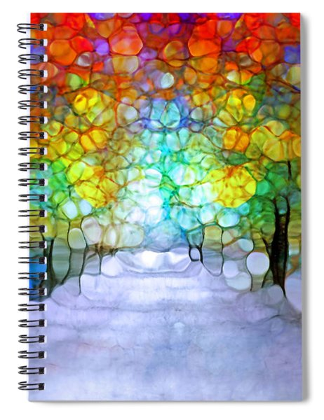 The Laughing Forest Spiral Notebook