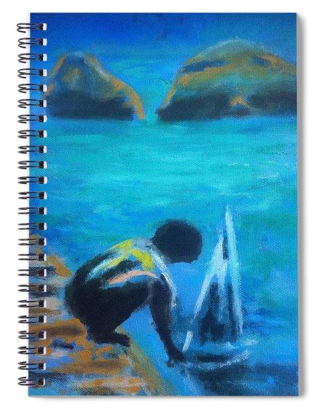 The Launch Sjosattningen Spiral Notebook