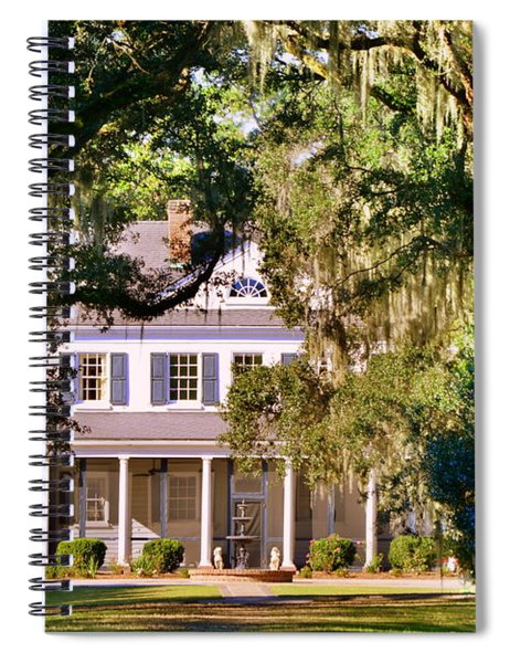 The Legare-waring House At Charles Town Landing Spiral Notebook