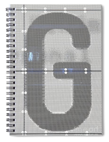 The Letter G Spiral Notebook