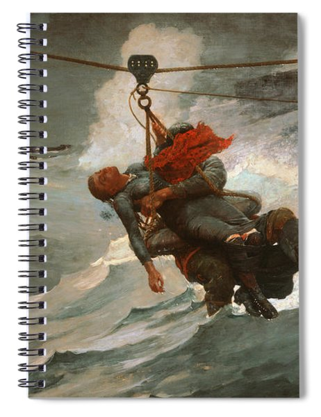 The Life Line Spiral Notebook