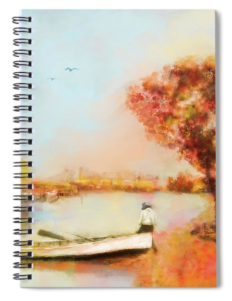 The Life Of A Fisherman Spiral Notebook