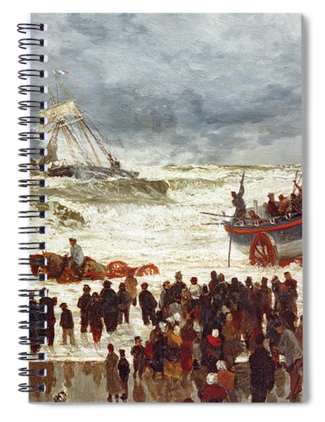 The Lifeboat Spiral Notebook