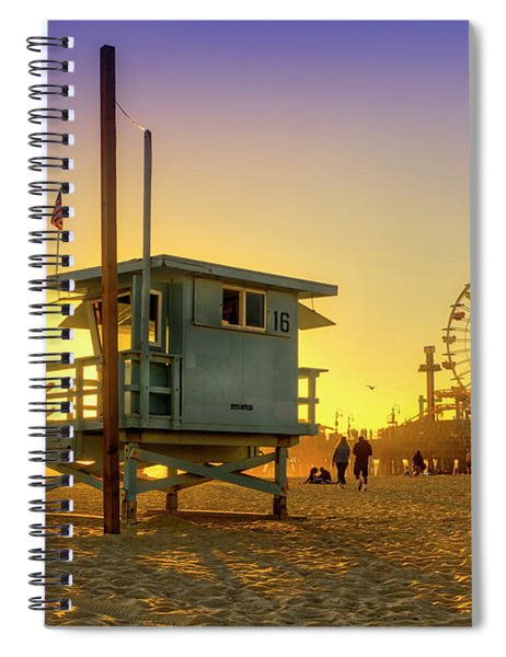 The Lifeguard Station Spiral Notebook