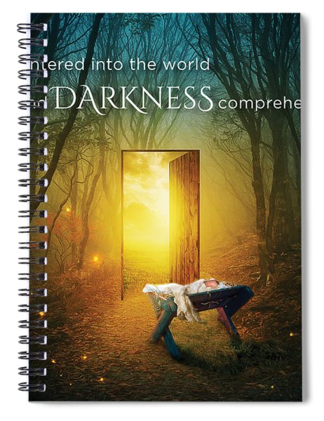 The Light Of Life Spiral Notebook