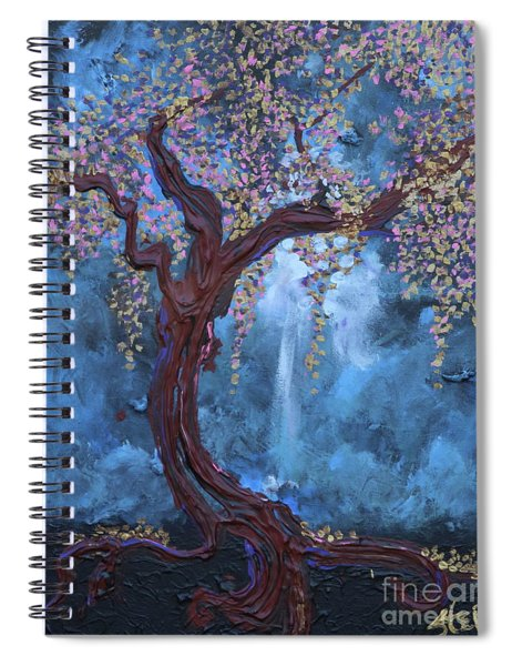The Light Sustains Me Spiral Notebook