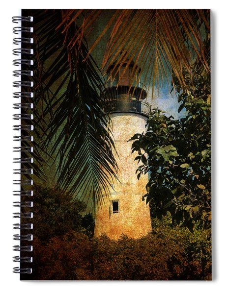 The Lighthouse In Key West Spiral Notebook