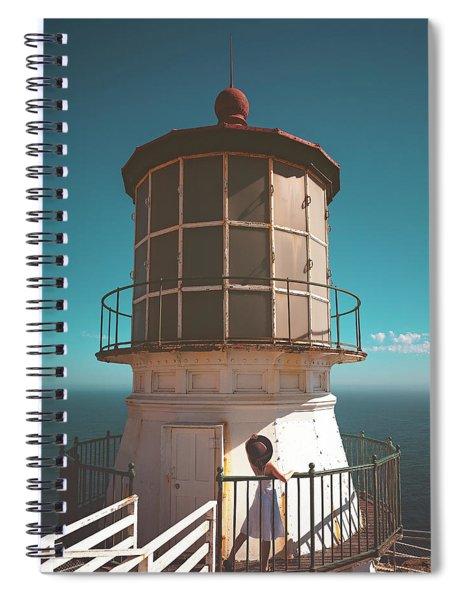 The Lighthouse Spiral Notebook