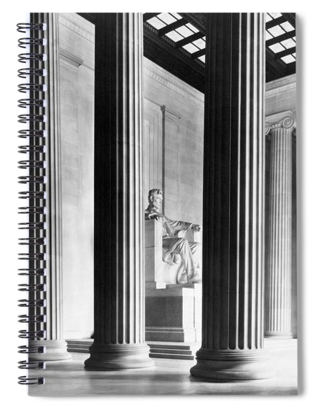 The Lincoln Memorial Spiral Notebook