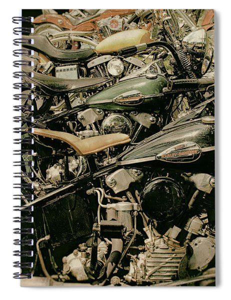The Line Up Spiral Notebook