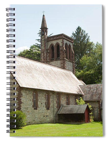 The Little Brown Church In The Vale Spiral Notebook
